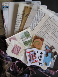 mixed media ephemera
