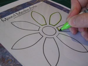 Downloadable flower stencils
