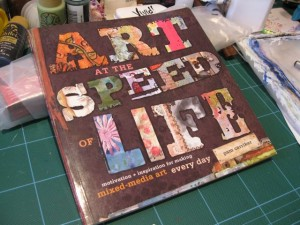 Mixed Media art team reviews Pam Carrick book