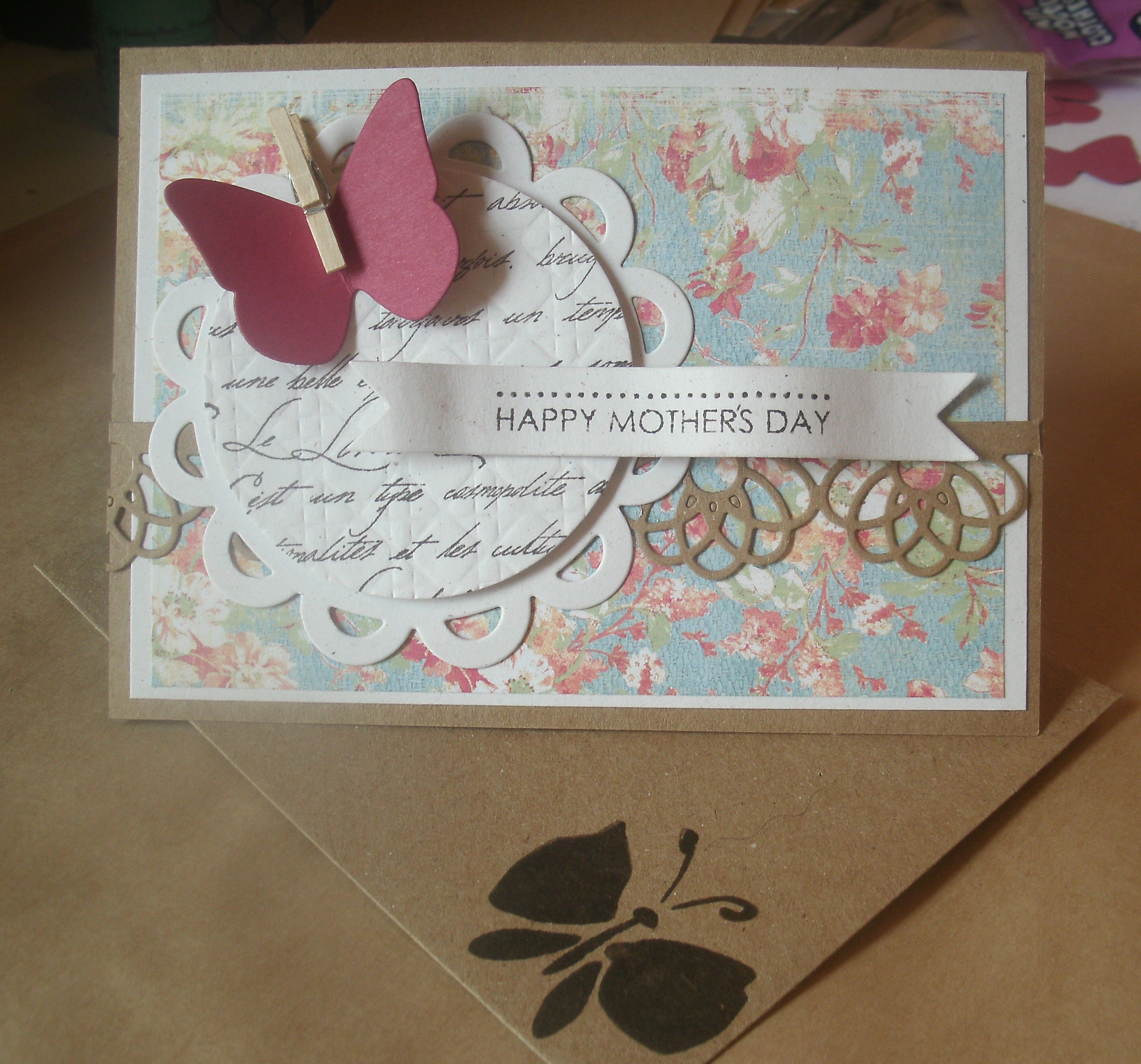 Using die cuts in handmade cards on the one card i die cut m4hsunfo