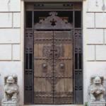using doorways in our mixed media art