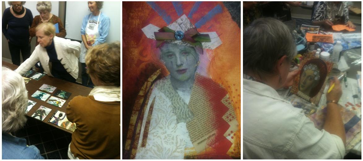 mixed media art classes