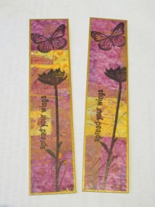 Simple bookmarks to pop in with any card