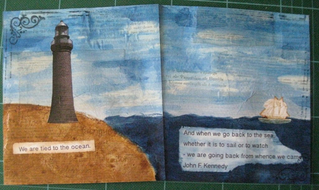 "tip in swap spread with ""Ocean"" as the theme"