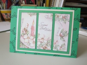 using vintage images to create your own handmade greeting card