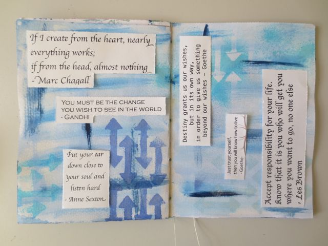 Quotes Journal Pleasing Inspiring Quotes For Art Journaling