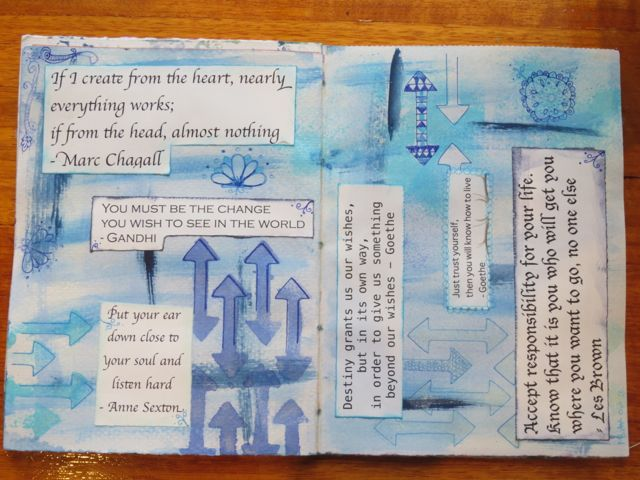 Ready-made Inspiring Quotes for your Art Journal prompts