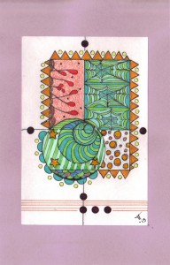 Trudy Thayer's zentangles