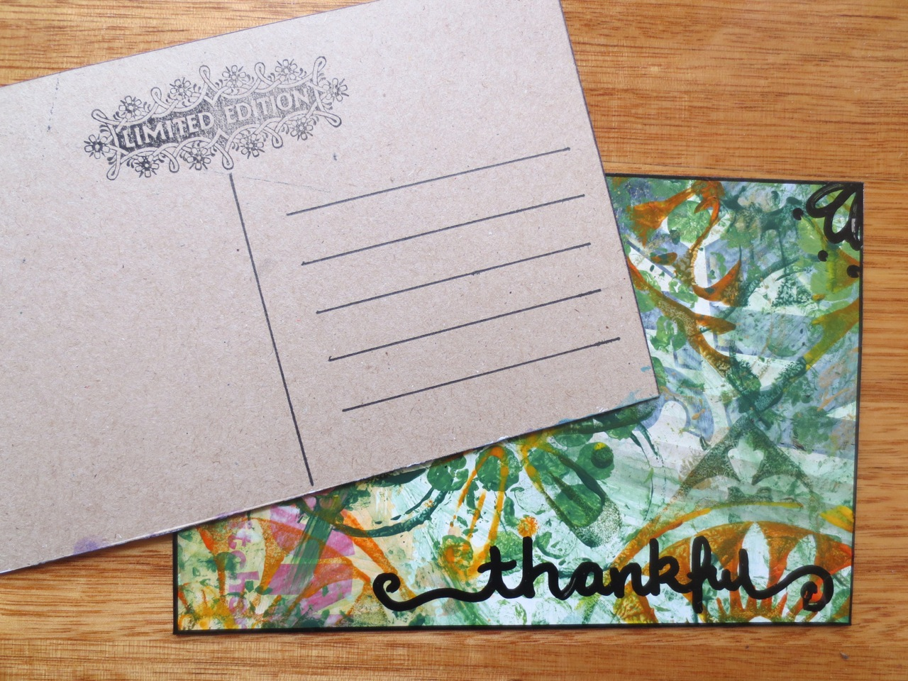 Mixed Media Postcard Art Online Tutorial