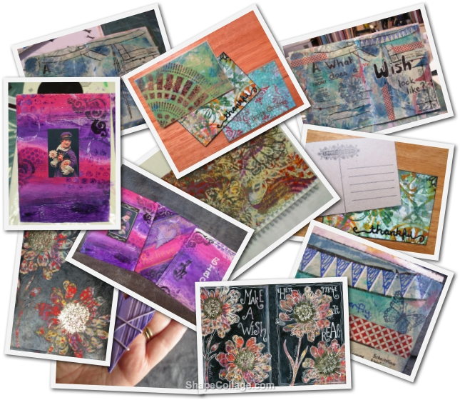 A summary of our Mixed Media Art Online Tutorials