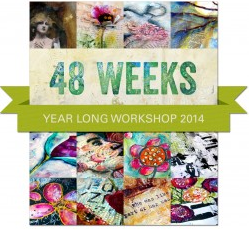 48 weeks online art class