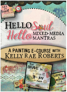 Hello Soul Hello Mantras Online mixed media art class course
