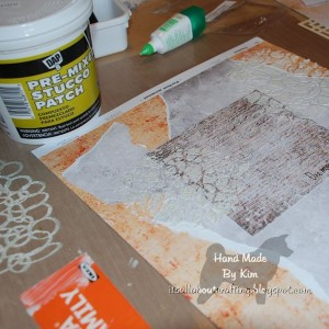 Kim Kelley tried three different types of texture paste