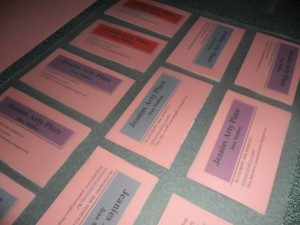 Tips in making your own business cards