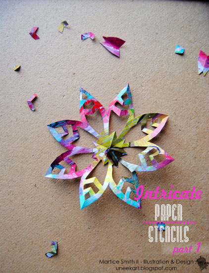 Intricate Paper Stencils, Part 1