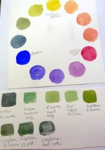 Tamara Dinius has fun with colour and her Derwent Inktense blocks