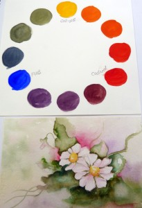 Tamara Dinius has fun with colour and her range of paints