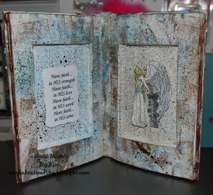 Altered Book Art by Kim Kelley