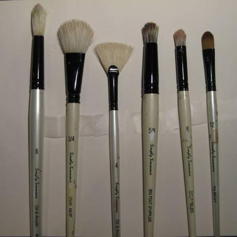 Painting Brush of Hank Plumley