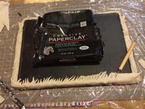Creative Paperclay board