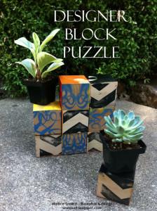 Create a Designer Block Puzzle