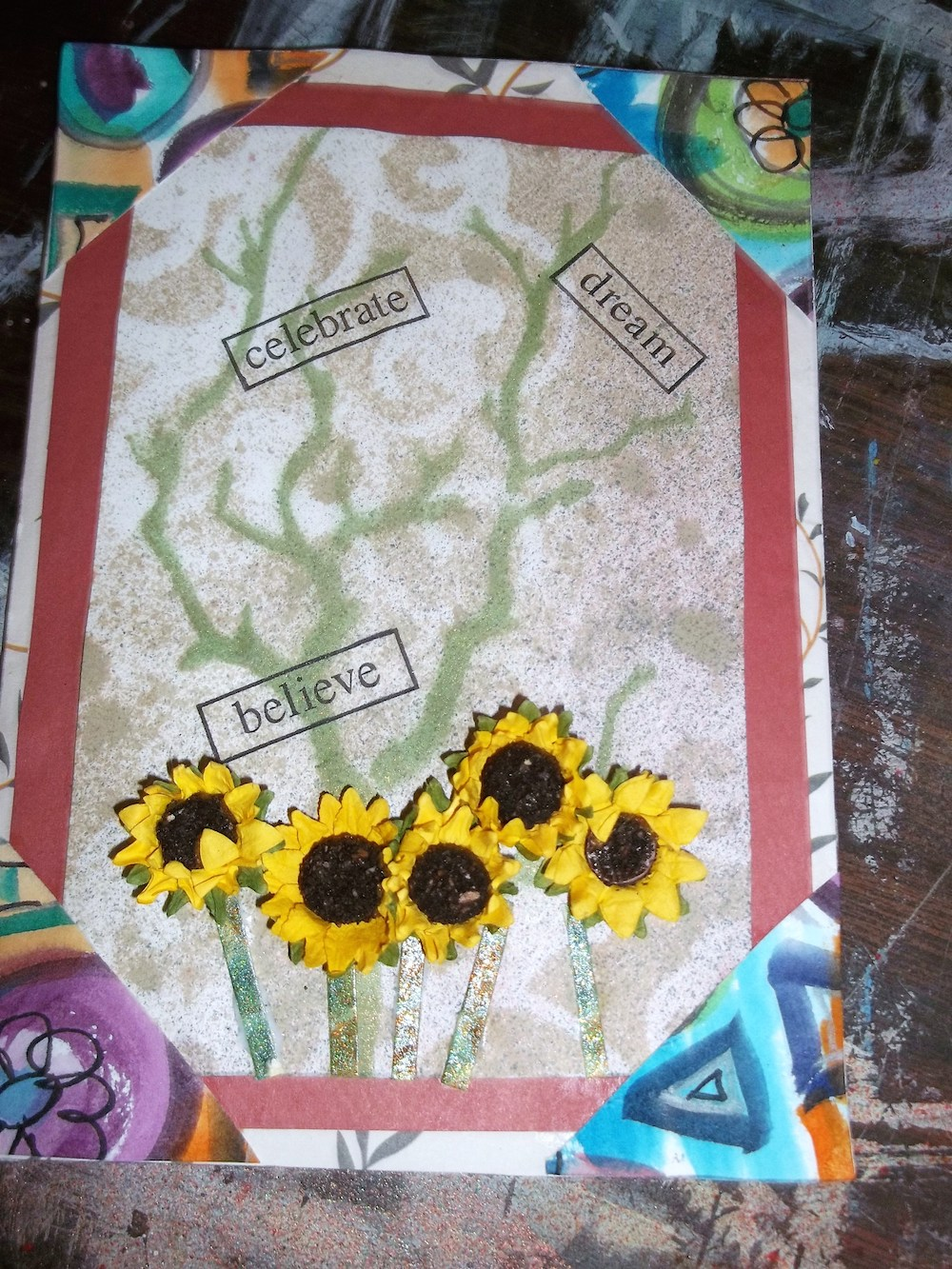 Handmade greeting cards from recycled art scraps handmade greeting cards are quick and easy to make m4hsunfo