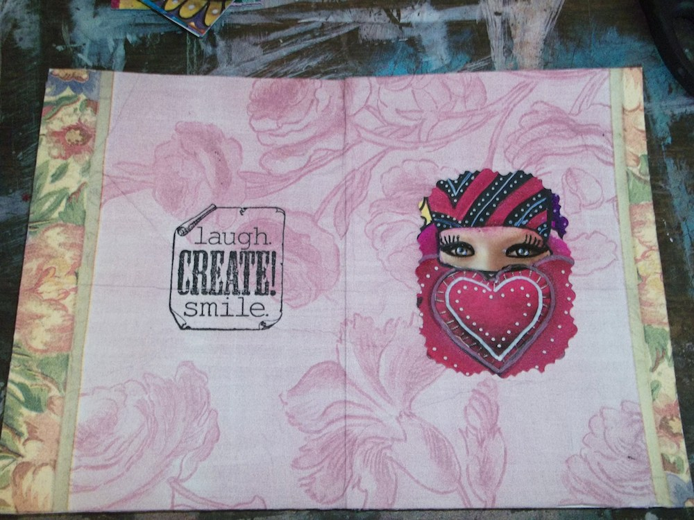 Handmade Greeting Cards From Recycled Art Scraps