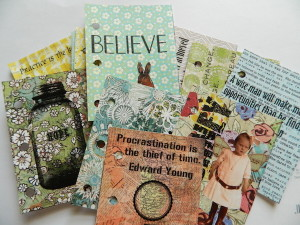 Melanie Statnick created this fun up cycling mini book
