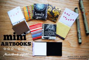 Create Mini ArtBooks: Matchbook-Styled!