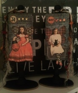 Halloween Decorations From Recycled Wood