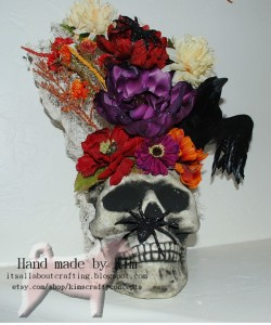 handmade Halloween decorations are easy