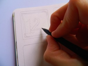 Learning to draw the simplest images and save money on stamps
