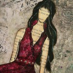 mixed media painting by Janelle Nichol