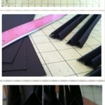 Steps for making a tunnel book – cutouts and hinges
