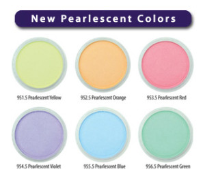 new colors from Pan Pastels
