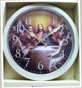 The Jesus clock in all its glory