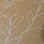 Creating artwork on Kraft paper