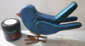 birdand Silks paint jars