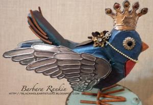 adhereddie cut wings, crown, eyes, flowers