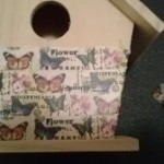 Shari Welch Mixed Media Birdhouse
