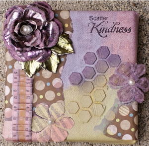 Mini Mixed Media Canvas by Kina