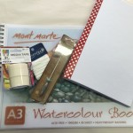 watercolor paper art journal