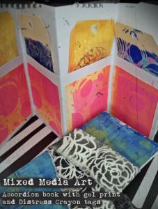Mixed Media art Paperific class 2017 title